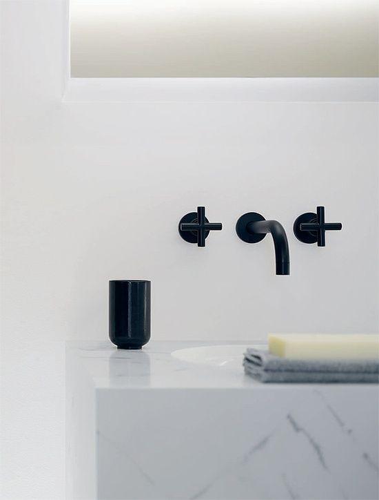 all black matte tap