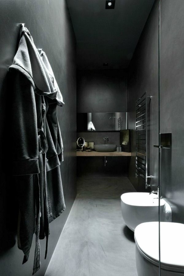 Allblack Bathroom