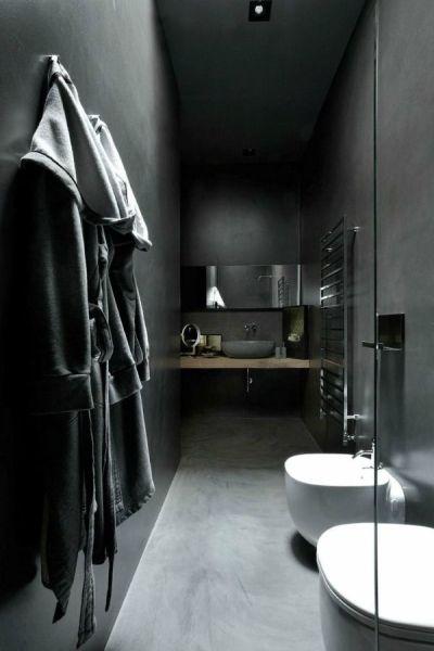 Allblack Bathroom