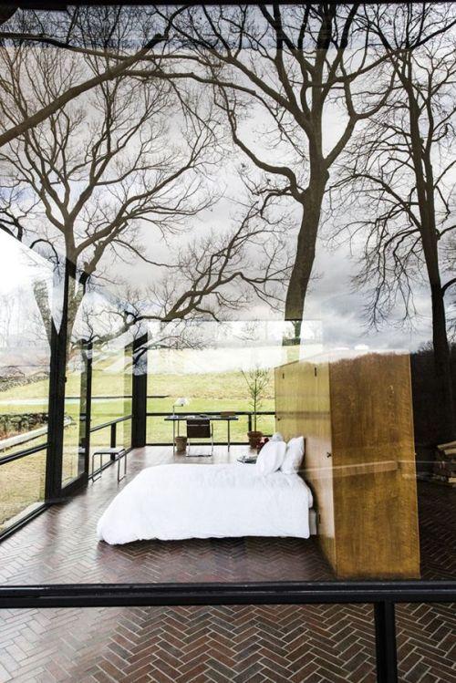 Glass-walls-bedroom-outside-inside